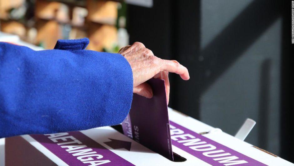 New Zealand votes to legalize euthanasia