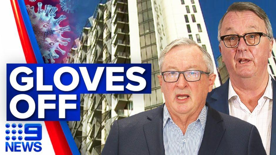 Victoria accused of turning its back on NSW   Coronavirus   9 News Australia