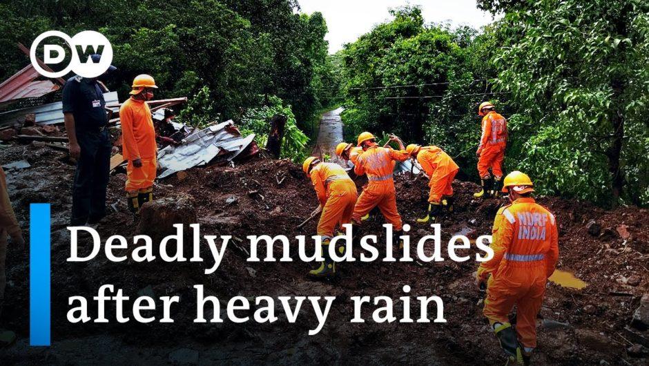 India floods & mudslides kill more 110 dead with many still missing | DW News