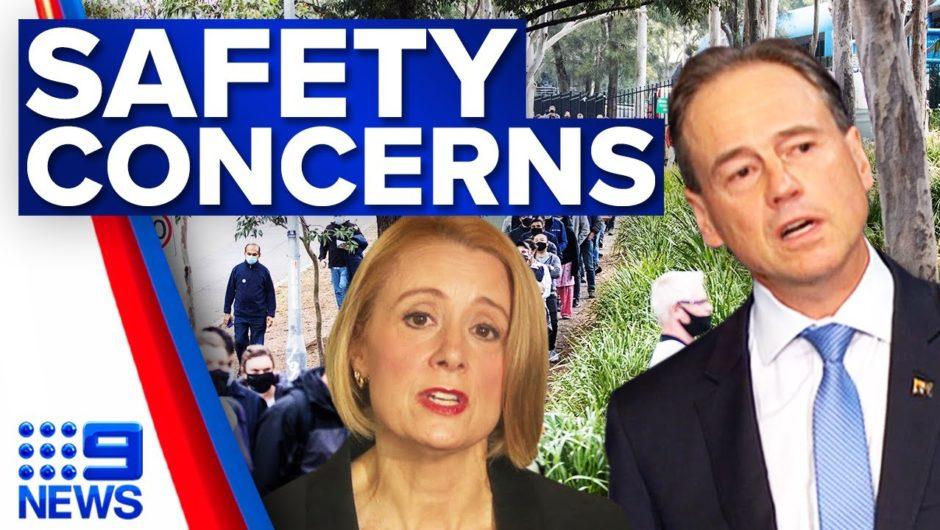 Anti-vax fury raises concerns for safety of MPs | Coronavirus | 9 News Australia